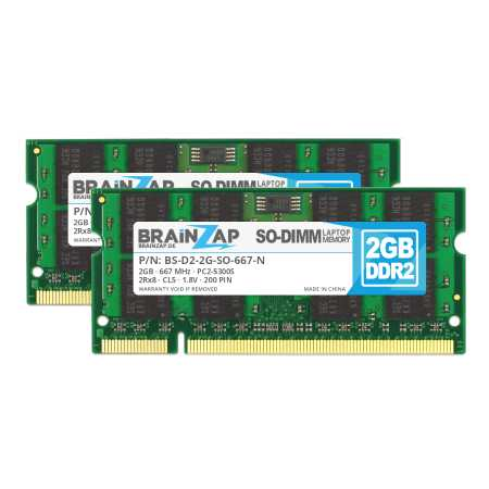 DDR2 Notebook Speicher (SO-DIMM 200 PIN)